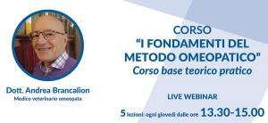 10,17,24 settembre e 1,8 ottobre 2020: I fondamenti del metodo omeopatico (webinar)