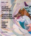 Atlante anatomico didascalico per Agopuntura Mesoterapia Biomesoterapia su Cavallo Cane Bovino Suino