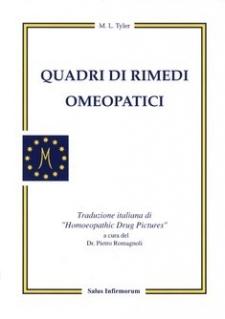 Quadri di Rimedi Omeopatici (Copertina rovinata)  Margaret Tyler   Salus Infirmorum