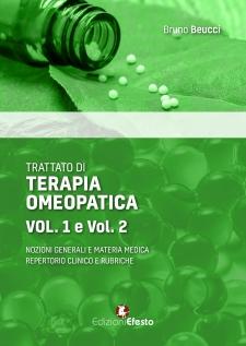 Trattato di terapia omeopatica (2volumi)  Bruno Beucci